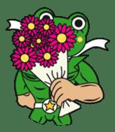 frogman mr,gero sticker #243726