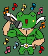 frogman mr,gero sticker #243727