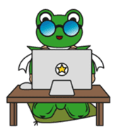 frogman mr,gero sticker #243733