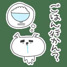 A dog in Kyushu 'Tetsuya' 2 sticker #243983