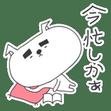 A dog in Kyushu 'Tetsuya' 2 sticker #243992