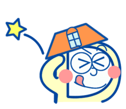 ROOMIX-Family Stamp- sticker #244958