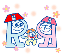 ROOMIX-Family Stamp- sticker #244961