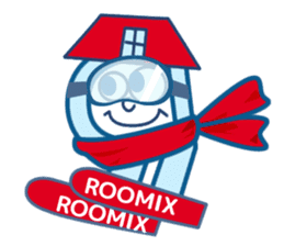ROOMIX-Family Stamp- sticker #244971