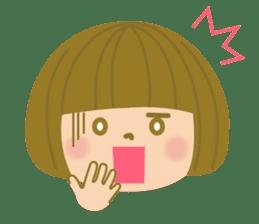 girls sticker #245300