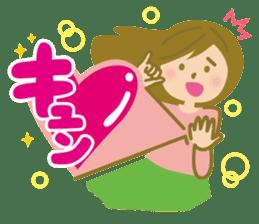 girls sticker #245328