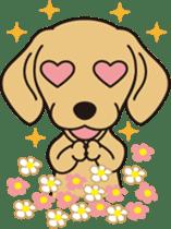 Love DACHS sticker #245943