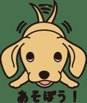 Love DACHS sticker #245947
