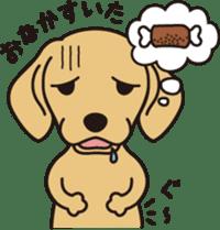 Love DACHS sticker #245967