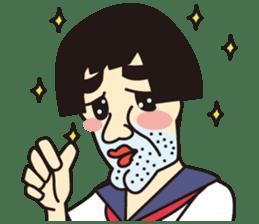 OYAJI GIRL sticker #246339