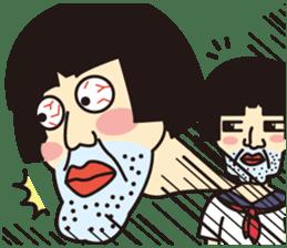 OYAJI GIRL sticker #246343