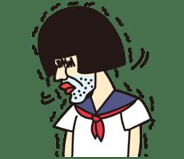 OYAJI GIRL sticker #246348