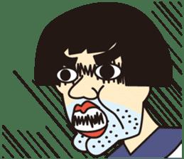 OYAJI GIRL sticker #246353