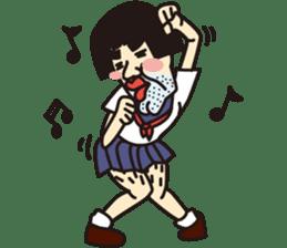 OYAJI GIRL sticker #246357