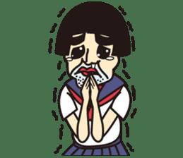 OYAJI GIRL sticker #246366
