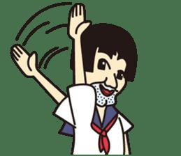 OYAJI GIRL sticker #246367
