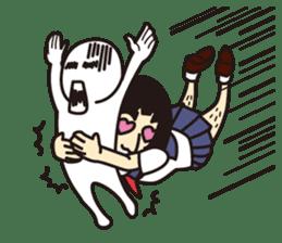 OYAJI GIRL sticker #246373