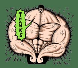 the Muscle men sticker #247158