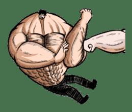 the Muscle men sticker #247165