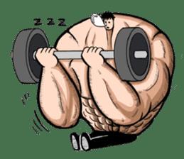 the Muscle men sticker #247171