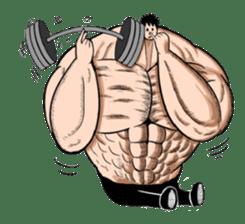 the Muscle men sticker #247173