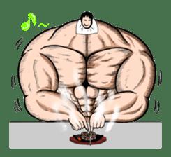 the Muscle men sticker #247176