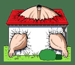 the Muscle men sticker #247179