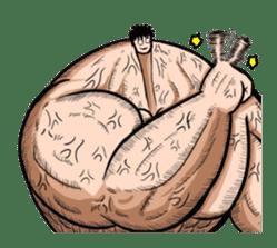the Muscle men sticker #247184