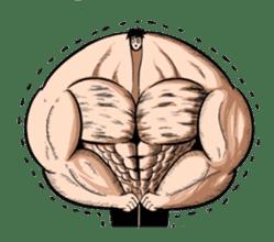 the Muscle men sticker #247187