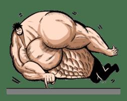 the Muscle men sticker #247190