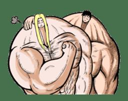 the Muscle men sticker #247191