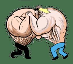 the Muscle men sticker #247192