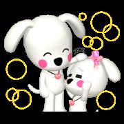 สติ๊กเกอร์ไลน์ PEACE-K & HAPPY (1)