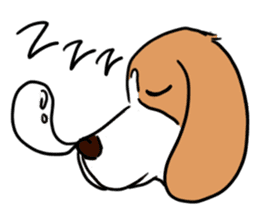 Beagle RUN! sticker #248034
