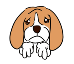 Beagle RUN! sticker #248051