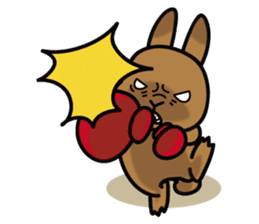 Rabbit's daily Stamp sticker #249006