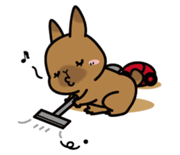 Rabbit's daily Stamp sticker #249015