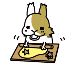 Rabbit's daily Stamp sticker #249031