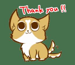 Cute dog stickers sticker #249474