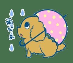 Cute dog stickers sticker #249478