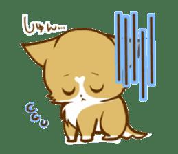 Cute dog stickers sticker #249479