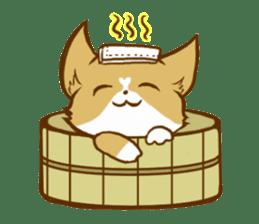 Cute dog stickers sticker #249480
