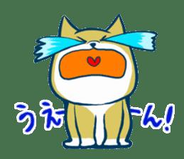 Cute dog stickers sticker #249482