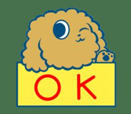 Cute dog stickers sticker #249483