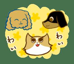 Cute dog stickers sticker #249489