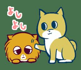 Cute dog stickers sticker #249491