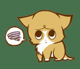Cute dog stickers sticker #249494