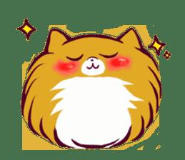 Cute dog stickers sticker #249496