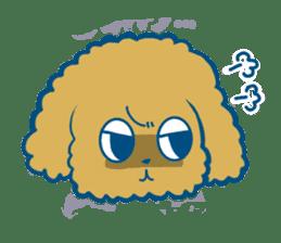 Cute dog stickers sticker #249509