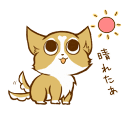 Cute dog stickers sticker #249510